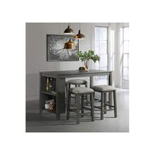 5045 Hawthorne 5-Piece Space Saver Pub Dining Set