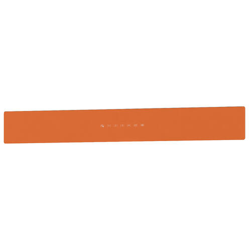 BEST Range Hoods - UCB3 36'' Front Glass Panel Orange