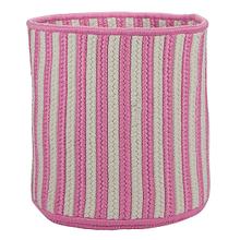 "Baja Stripe Basket BJ73 Pink 12"" X 10"""
