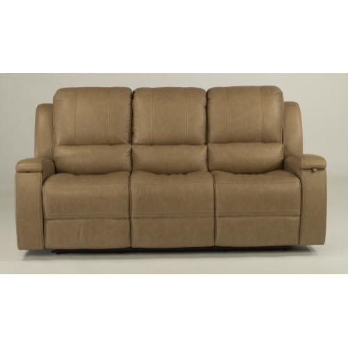 Asher Leather Power Reclining with Power Headrests