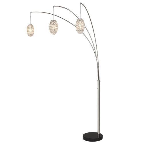 "Gallery - 90""h 3-arm Arc Floor Lamp"