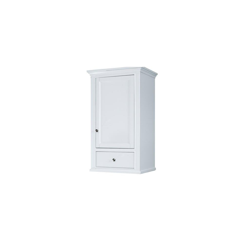"Framingham 21x18"" Linen Hutch - Polar White"