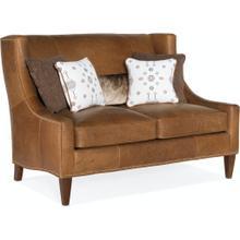 Bradington Young Lavendar Settee 8-Way Hand Tie w/Two Cushions 694-85