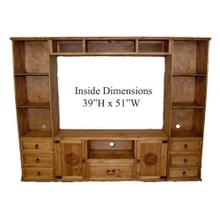 See Details - 4 PC Flat Screen Wall W/star With Star
