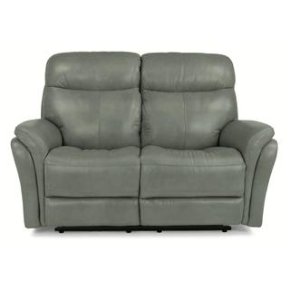 See Details - Zoey Power Reclining Loveseat with Power Headrests