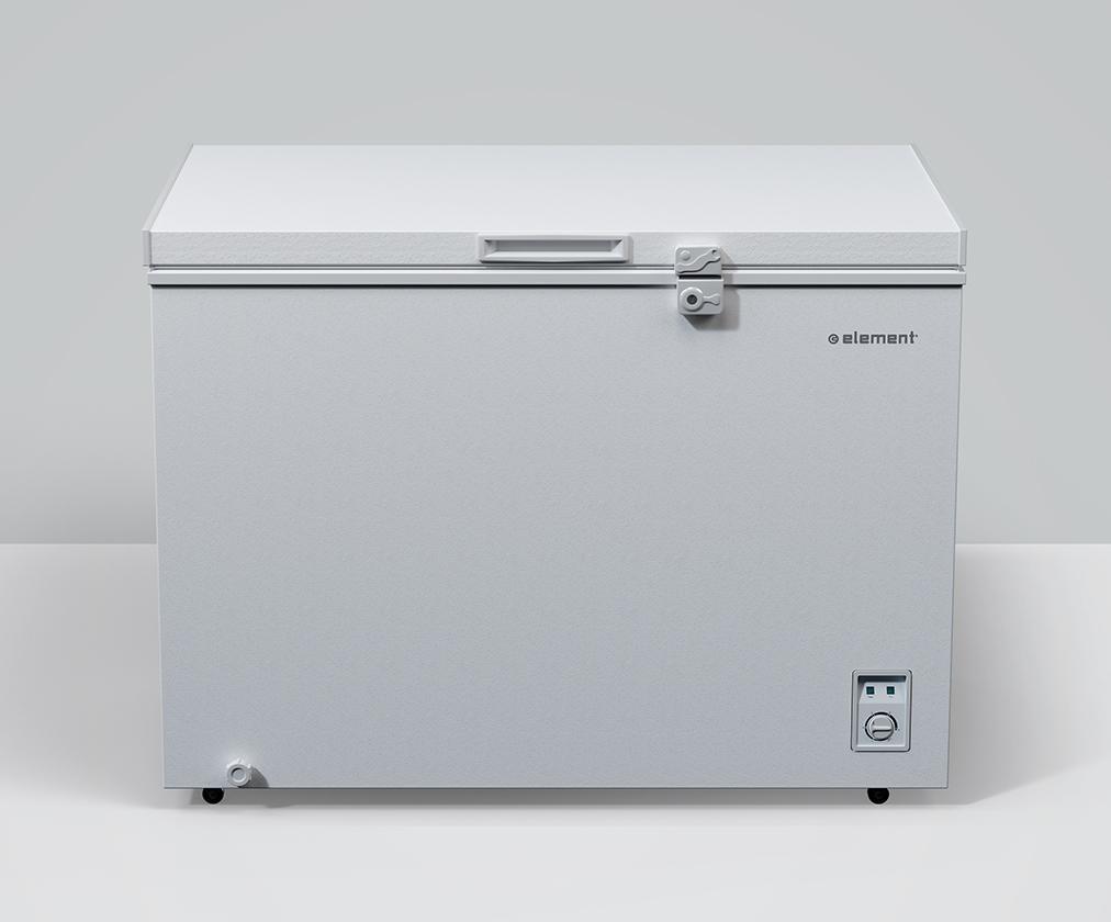 Element ApplianceElement 9 Cu. Ft. Chest Freezer, White