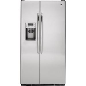 GE® ENERGY STAR® 29.1 Cu. Ft. Side-by-Side Refrigerator with Integrated Dispenser
