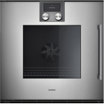 "Gaggenau200 series 200 series single oven Full glass door in Gaggenau Metallic Width 24"" (60 cm) Left-hinged"
