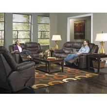 PWR Reclining Sofa w/3 Recliner & Drop Down Table