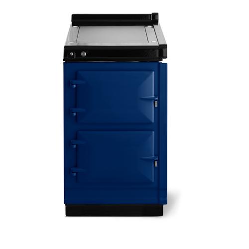 "AGA - AGA Classic 20"" Hotcupboard with Warming Plate, Dark Blue"