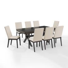 See Details - Hayden 9pc Dining Set