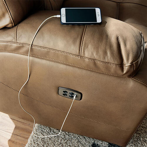 Best Home Furnishings - RYSON SOFA Power Reclining Sofa