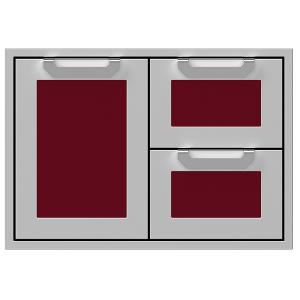 """30"""" Hestan Outdoor Combo Door/Drawer - AGSDR Series - Tin-roof"""