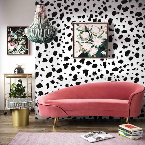 Tov Furniture - Cleopatra Hot Pink Velvet Sofa