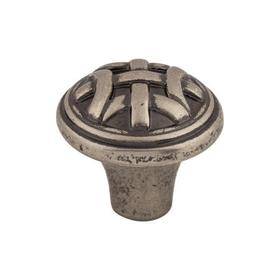 Celtic Small Knob 1 Inch Pewter Antique