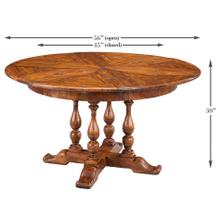 Walnut Jupe Dining Table, Small