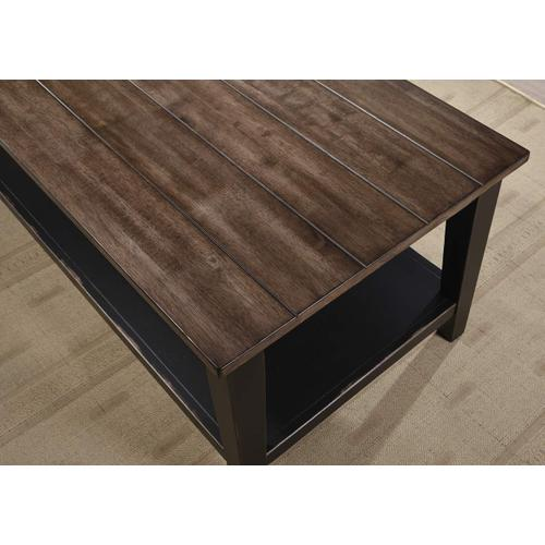 7558 A La Carte Rectangular Cocktail Table