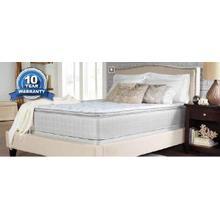 See Details - Marbella II Pillow Top White Twin Mattress
