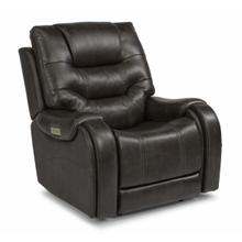 See Details - Sinclair Power Recliner with Power Headrest and Lumbar