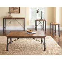 Ashford 3-Piece Set(Cocktail & 2 End Tables)