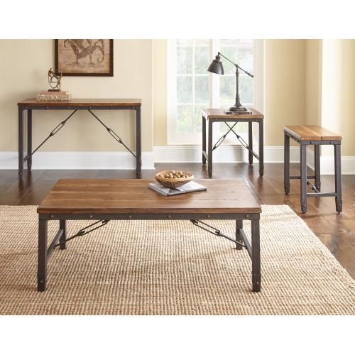 Gallery - Ashford 3-Piece Set(Cocktail & 2 End Tables)