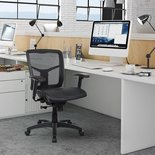 Office Star - Progrid Managers Chair With Mesh Seat and Back
