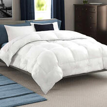 Full/Queen Luxurious Hungarian White Goose Year Round Down Comforter Full/Queen