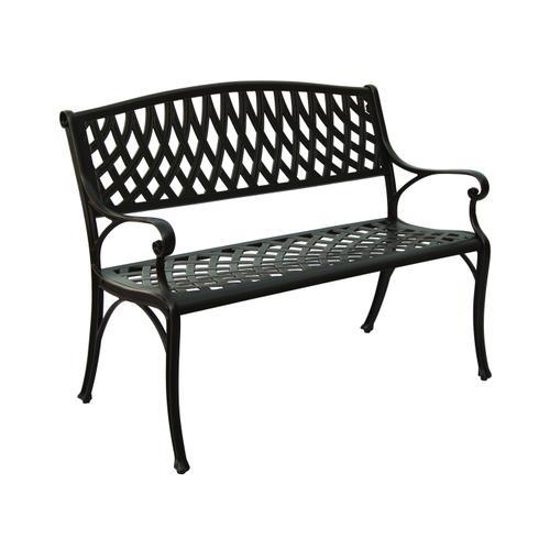 Massa Cast Aluminum Garden Bench