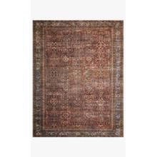 View Product - LAY-01 Brick / Blue Rug