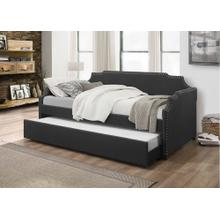 7511 DARK GRAY Linen Daybed - TWIN