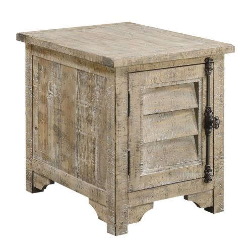 Interlude Chair Side Table, Sandstone Buff T560-03-05