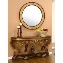 Console Table W/ Mirror
