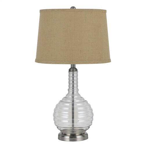 150W 3 Way Glass Table Lamp