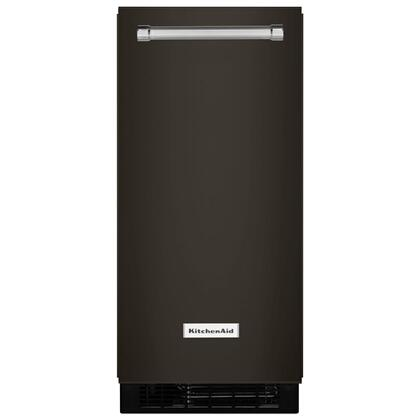 KitchenAid® 15'' Automatic Ice Maker with PrintShield™ Finish - Black Stainless Steel with PrintShield™ Finish