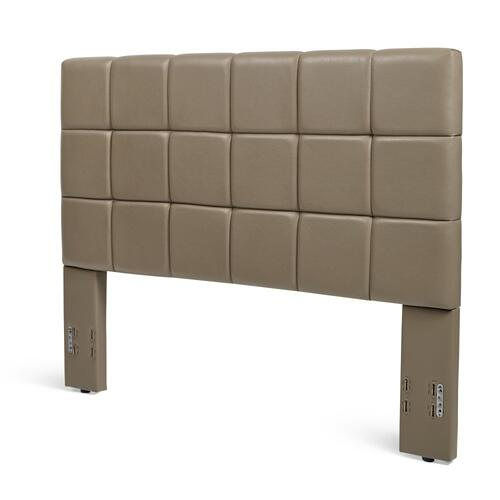 KEN50HBTT Kenora Headboard - Full/Queen, Taupe