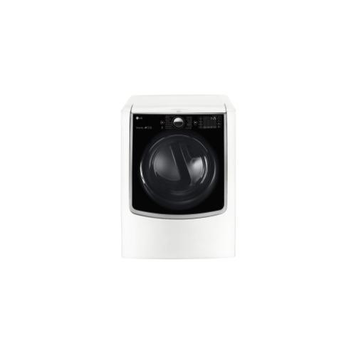 LG - 7.4 cu. ft. Smart wi-fi Enabled Electric Dryer w/ TurboSteam™