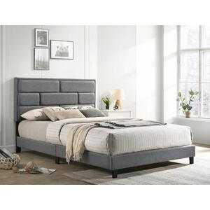 Flannery Full Platform Bed Grey