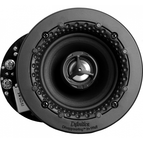 "Disappearing™ Series Round 3.5"" In-Wall / In-Ceiling Speaker"
