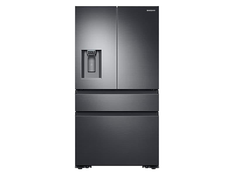 Samsung23 Cu. Ft. Counter Depth 4-Door French Door Refrigerator In Black Stainless Steel