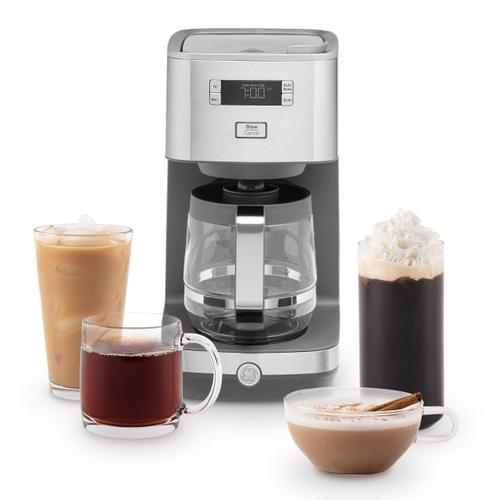 GE Appliances - GE Drip Coffee Maker with Glass Carafe