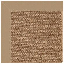 "Islamorada-Diamond Canvas Camel - Rectangle - 24"" x 36"""