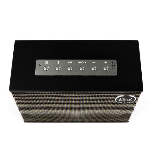 Heritage Groove - High-End Portable Bluetooth Speaker - Matte Black