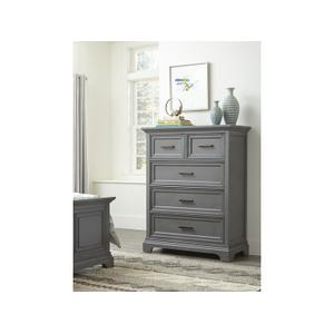 JOHN THOMAS FURNITURE5-Drawer Chest in Mineral Gray