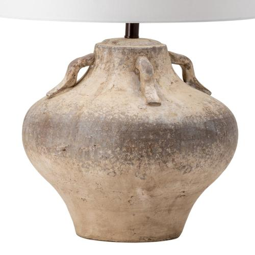 """Crestview Collections - Dover Handfinished """"Jug"""" Lamp with Handles"""