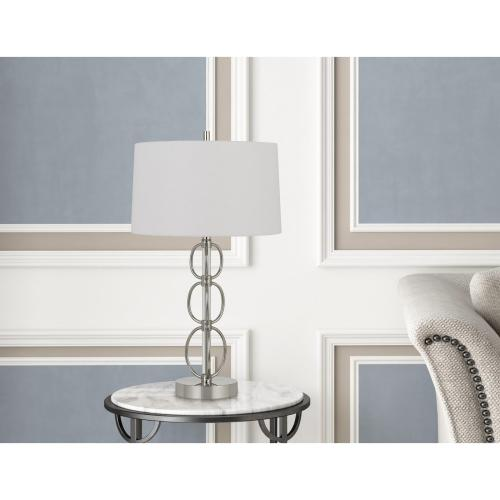 Cal Lighting & Accessories - 150W 3 Way Bree Metal Table Lamp
