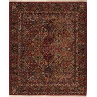 "Original Multi Panel Kirman 2' 6""x8' 8"" Runner"