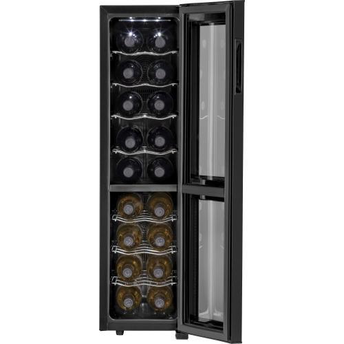 18-Bottle, Dual-Zone Wine Cellar