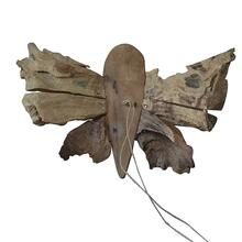 Teak Butterfly Decor