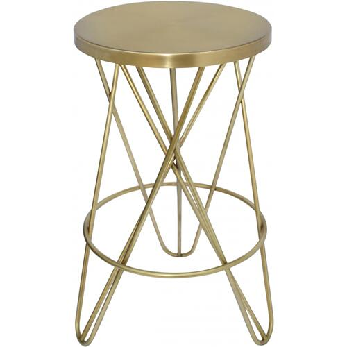 "Mercury Counter Stool - 15"" W x 15"" D x 26.5"" H"