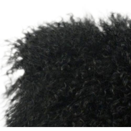 Tov Furniture - Tibetan Sheep Black Large Pillow
